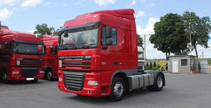 2013 DAF XF 105.460  SPACE CAB, 2-drzwiowy, Automat, Diesel, Samochód ciężarowy, Euro5
