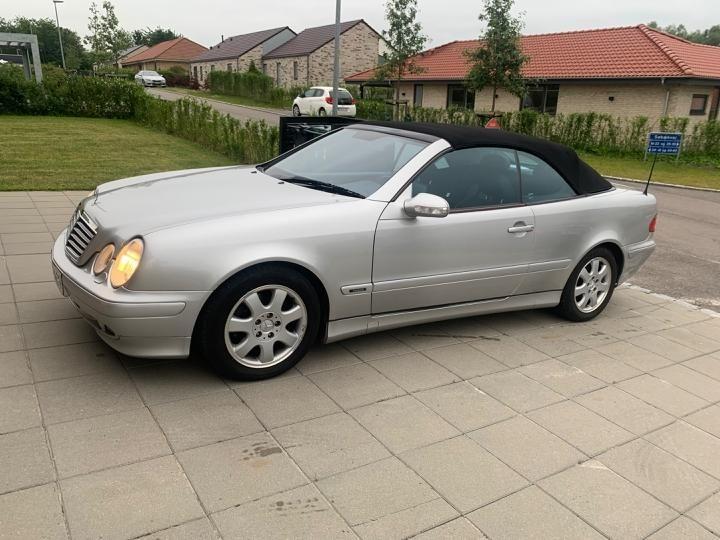 2001 Mercedes-Benz CLK-Class  2.0 Avantgarde, 2d, Aut., Benzin, Cabriolet